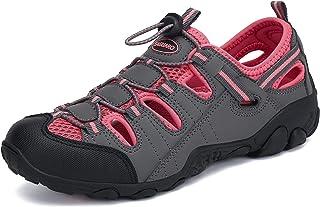 SAGUARO رجل إمرأة رياضية المشي صندل مغلق اصبع القدم المشي في الهواء الطلق أحذية المياه