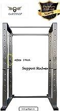 GoFiTPrO Phelix Heavy Duty M S Iron Power Squat Rack 4x2 (Pipe Size 47 × 94 mm) Weight Capacity Upto 400 Kg