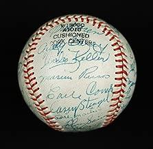The Finest 1953 Yankees Team Signed Baseball Mickey Mantle Joe Dimaggio COA - JSA Certified - Autographed Baseballs