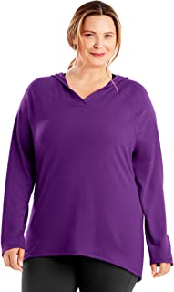 Just My Size Women's Plus Size Active French Terry Pullover Hoodie