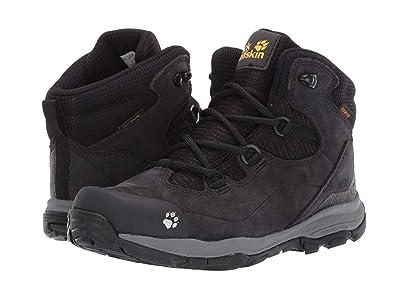 Jack Wolfskin Kids Mountain Attack 3 LT Texapore Mid (Toddler/Little Kid/Big Kid) (Phantom/Grey) Boys Shoes