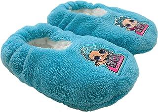 SUN CITY Pantofole Invernali Chiuse LOL Surprise Ciabatte Peluche Bambina 3421