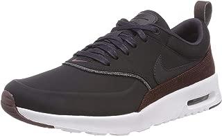 Women's Air Max Thea Premium Low-Top Sneakers Oil Grey-Metallic Mahogany 025, 4 UK 4 UK