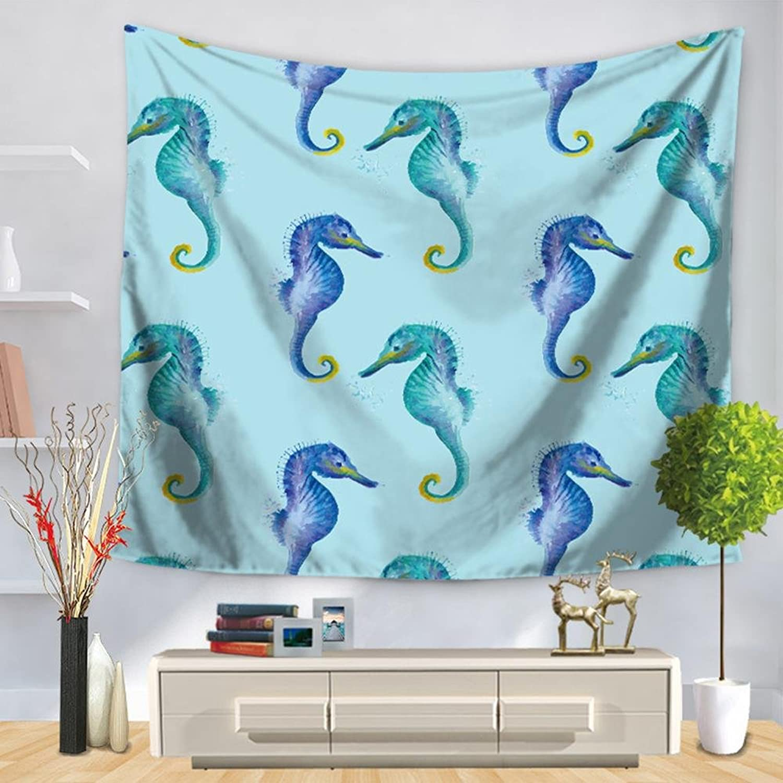 Wandteppichkarikaturdelphin Starfish-Krakenwandhintergrund-Dekorationwandbehänge , , , Gt1230-35 , 150200 B078B84LXD 49e280