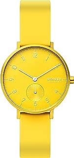 Skagen Women's Quartz Watch analog Display and Silicone Strap, SKW2820