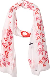 Karl Lagerfeld Paris Women's Printed Oblong Scarf