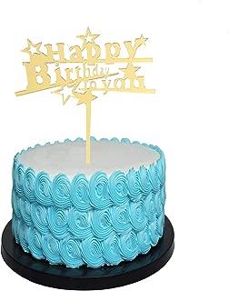 Best happy birthday cake topper diy Reviews