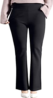 Women's Plus Size Dressy Work Pants for Office,Slimming and Stretchy
