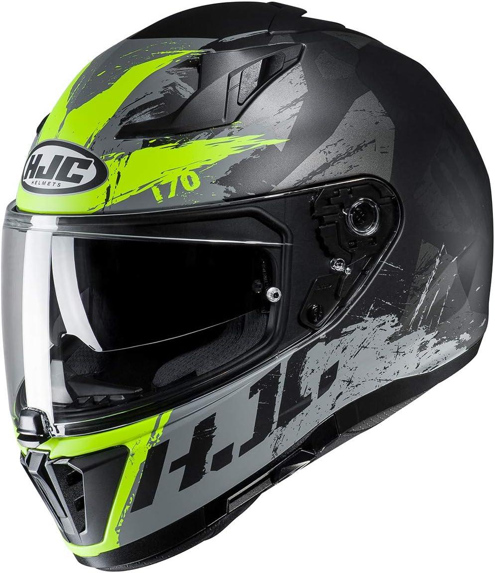 Grey//RED Rias HJC i70 Helmet XX-Large
