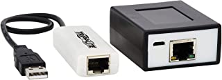 مجموعة موسع Tripp Lite USB عبر Cat5/Cat6 4 منافذ مع منفذ PoC USB 2.0 19.7 قدم (B203-104-POC)