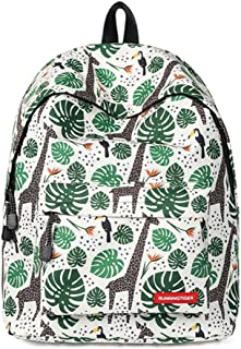 Amint Women's 14 Inches Laptop Backpack for iPad Rucksack Bookbag, 10 Patterns Varied