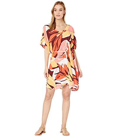 Seafolly Cut Copy Kaftan (Tangelo) Women