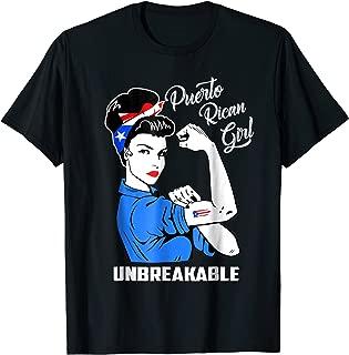 Puerto Rican Girl Unbreakable T-Shirt Heritage Puerto Rico
