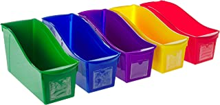 5 pack book bin storex