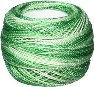 DMC 116 8-125 Pearl Cotton Thread Balls, Green, Size 8