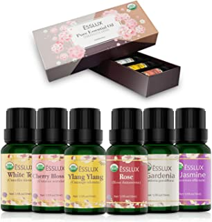 Best jasmine essential oils and aromatherapy Reviews