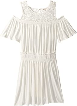 Ella Moss Girl Cold Shoulder Dress (Big Kids)