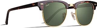 Vintage Square Style Sunglasses Acetate Frame Glass Lenses For Men Women 100% UV400 Protection …
