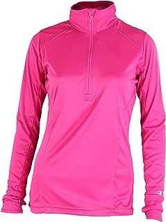 Womens Powertrain Vapor 1/4 Zip Pullover Top