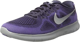 separation shoes 59dff ba1aa Nike Womens Free Rn 2017 Low Top Lace Up Running Sneaker, Purple, Size 6.0