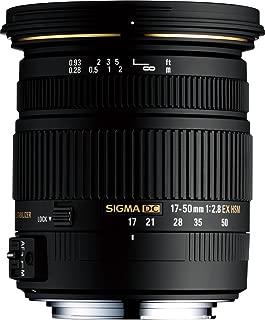 Sigma 17-50mm F/2.8 EX DC OS HSM FLD Large Aperture Standard Zoom Lens for Nikon Digital DSLR Camera - (Renewed)