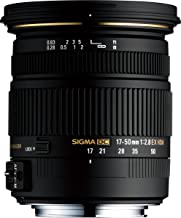 Sigma 17-50mm F/2.8 EX DC OS HSM FLD Large Aperture Standard Zoom Lens for Nikon Digital DSLR Camera - (Renewed)