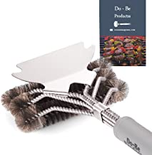 Do-Be Products Best Cleaning Grill Brush Bristle BBQ Brush for Gril - 100% Rust Resistant Stainless Barbecue Brush, Ceramic, Steel, Iron -Great Grill Accessories Gift