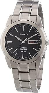 Men's SGG731 Titanium Silver Dial Watch