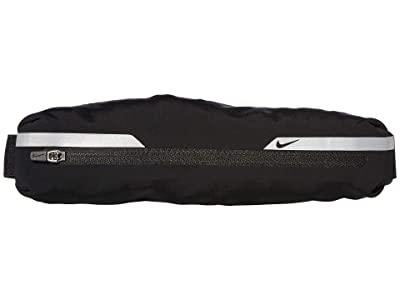 Nike Flash Slim Waistpack (Black/Silver/Black) Satchel Handbags