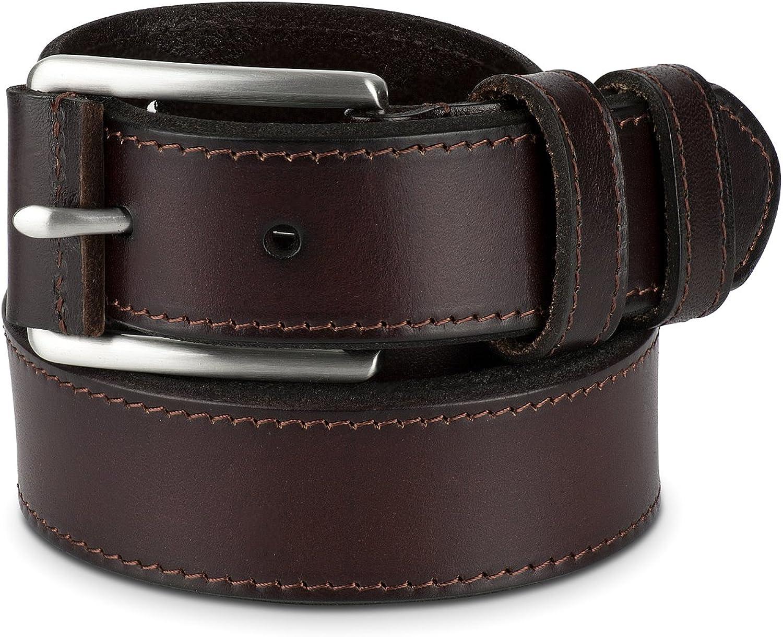 Amazon.com: Mens Belt - Men's Belts - 100% Leather Belt for Men Adjustable  - Brown, Size 40: Clothing