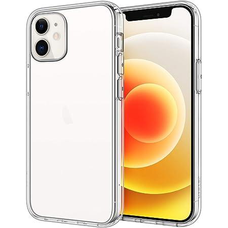 JEDirect iPhone12 / iPhone12 Pro ケース (6.1インチ専用) 衝撃吸収 バンパーカバー 傷つけ防止 クリアバック (HD クリア)