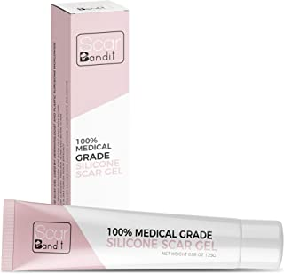 Scarbandit Medical Grade Silicone Scar Gel - Advanced Reducer for C-Section and Stretch Marks, Surgical, Acne Scars, Burn ...