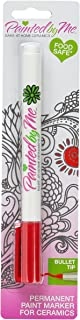 I Love To Create Glass Marker Bullet Tip, Red