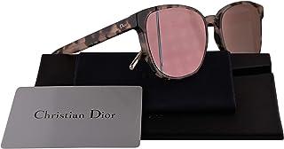 ca393ea228253 Dior Christian DiorStep Sunglasses Havana Rose w Grey Rose Gold Mirror Lens  55mm 3Y6R2 DiorSteps