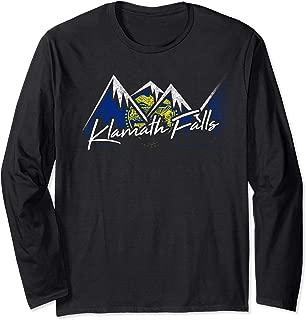 Klamath Falls Oregon Flag Mountains Shirt State Souvenir Gif