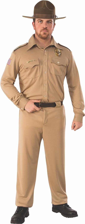 comprar ahora Rubies 700044STD Adult Stranger Things Jim Hopper Mens Mens Mens Costume  Standard (UK 42-44)  ¡envío gratis!
