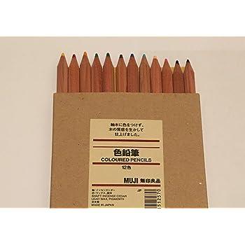 無印良品 色鉛筆 12色