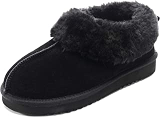 Slippers for Women Two Tone Memory Foam Cozy Plush Breathable Indoors Lightweight Non-skid Machine Washable