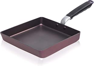 TeChef - Tamagoyaki Japanese Omelette Pan / Egg Pan, Coated with New Teflon Select - Colour Collection / Non-Stick Coating...
