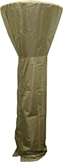 Hiland HVD-CVR-T Tall Patio Heater Cover, 87 Inches, Tan