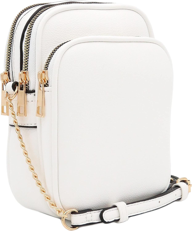 Multi Pocket Casual Crossbody Bag