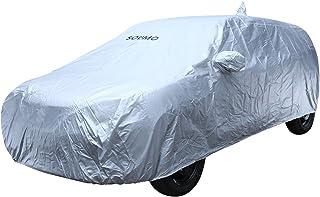Amazon Brand - Solimo Maruti Suzuki Baleno UV Protection & Dustproof Car Cover (Silver)