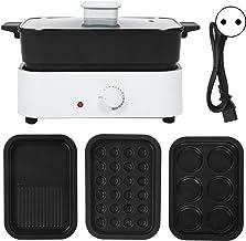 Pot chaud électrique Mijoteuse electrique Poêle à frire électrique Poêle électrique Plaque chauffante électrique, avec cas...
