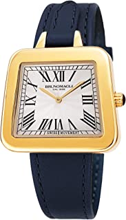 Bruno Magli Women's Emma 1142 Swiss Quartz Italian Leather Strap Watch