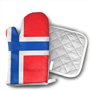 norwegian flag gloves