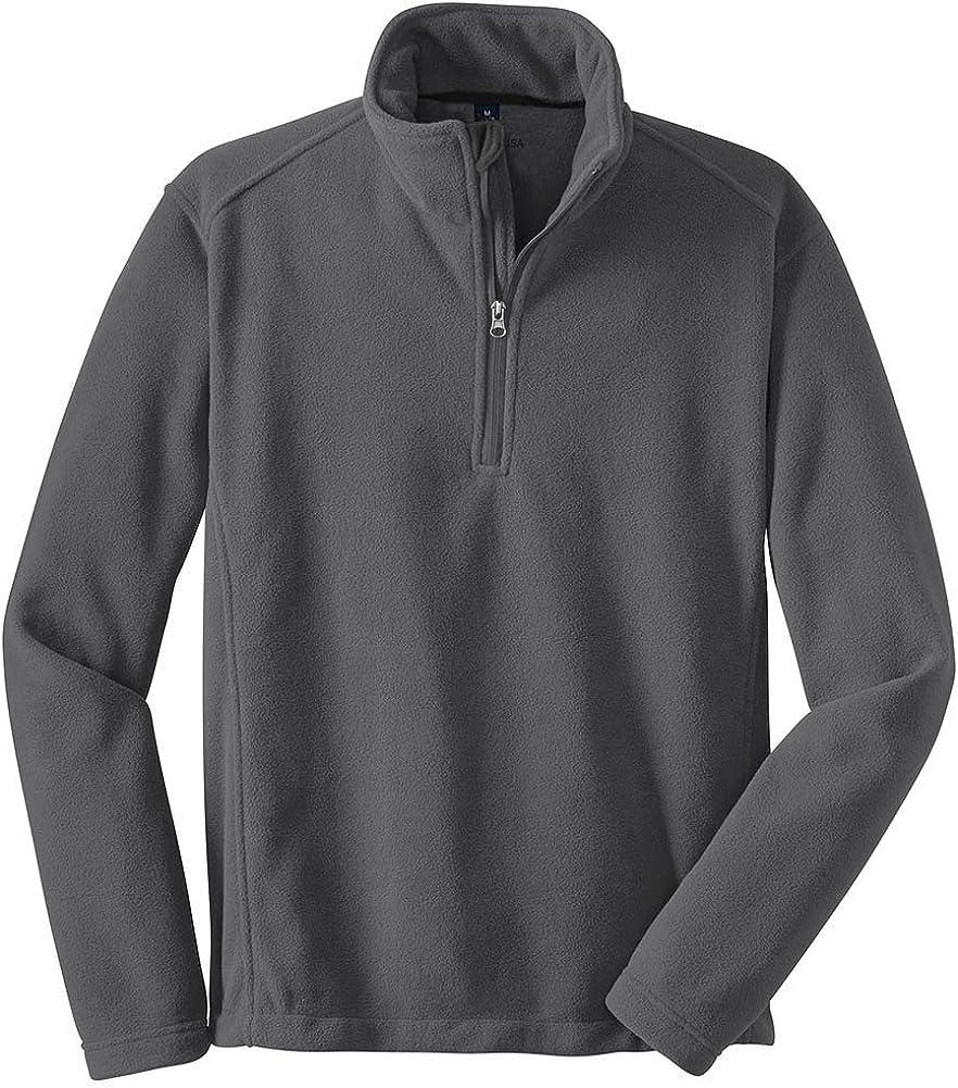 Joe's USA Tall Value Fleece 1/4-Zip Pullover Sizes LT-4XLT