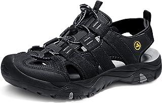 ATIKA Men's Sports Sandals Trail Outdoor Water Shoes 3Layer Toecap M108/M107/M106