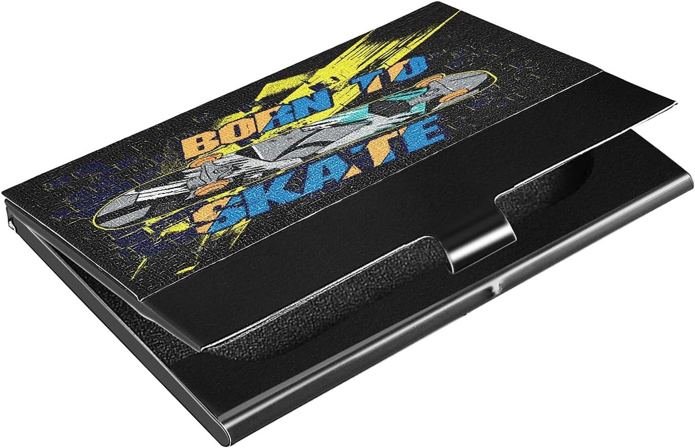 OcuteO Typography Hand Drawn Skateboard Metal Print Business safety Car Gorgeous