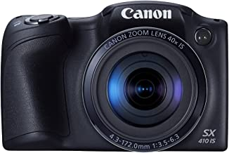 Canon PowerShot SX410 IS 20.0 MP Digital Camera with 40x Optical Zoom (24?960mm) and 24mm Wide-Angle Lens, 3.0 Inch LCD and 720P HD Video (Renewed)