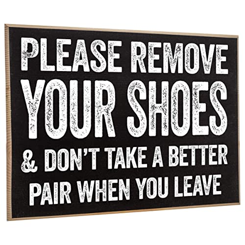 Home Decor Plaques Signs Rustic Primitive Home Decor Plaques Signs Please Remove Your Shoes 10 X 5 Wood Plaque Sign Humor Funny Home Wall Decor Home Garden Home Decor
